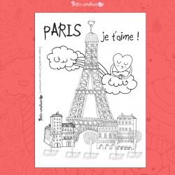 carte-a-colorier-paris-je-t-aime