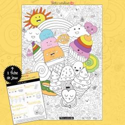 coloriage-geant-enfant-gourmandise-ice-cream