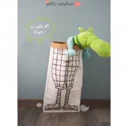 sac-papier-kraft-clown